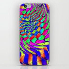 Tumbler #33 Trippy Psychedelic Optical Illusion Design by CAP iPhone Skin