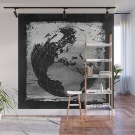 Old Metal Chart of the Earth Wall Mural