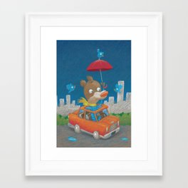 Giboulées Framed Art Print