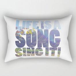 Life is a Song Rectangular Pillow
