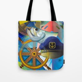 Nautical Design Tote Bag