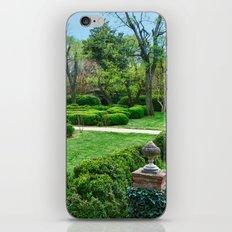 Box Garden iPhone & iPod Skin