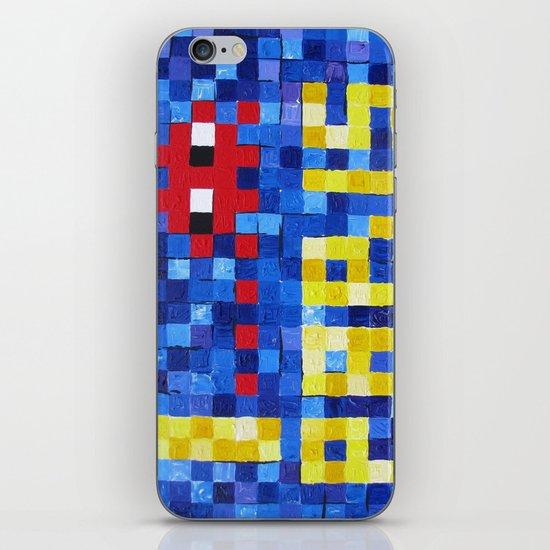 I Space Invader Paris iPhone & iPod Skin