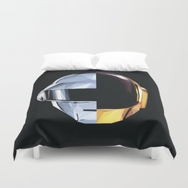 Daft Punk Polygon Duvet Cover