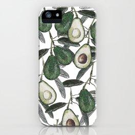 Ripe Avocado iPhone Case