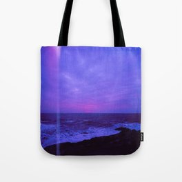 Dusk Light Leak Tote Bag