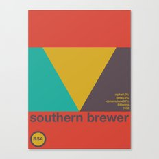 southern brewer single hop Canvas Print