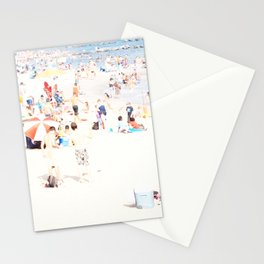 Blue Beach Brooklyn Stationery Cards