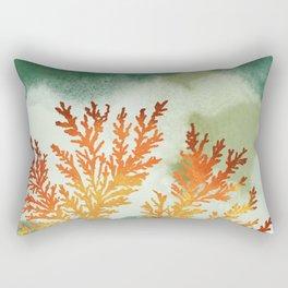 Sandstone Fossils Rectangular Pillow