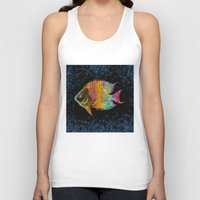 fish Tank Tops featuring  Fish by Vitta