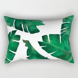 Banana leafs Rectangular Pillow