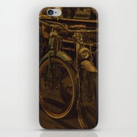bicycles iPhone & iPod Skins featuring Bicycles by Gurevich Fine Art