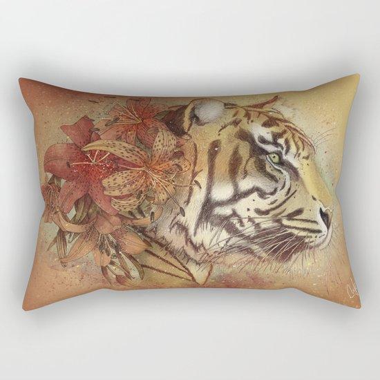 Tigerlily Rectangular Pillow