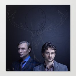 NBC Hannibal Me and the Devil Canvas Print