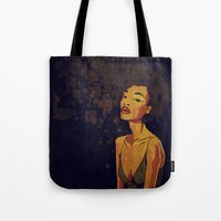 afro Tote Bags featuring afro - Soul by Mike Koubou