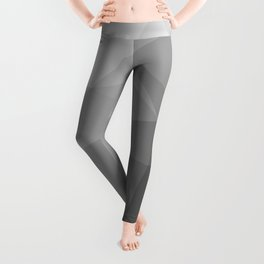 LOWPOLY BLACK AND WHITE Leggings