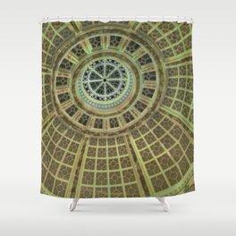 circular geometry  Shower Curtain