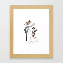 muses Framed Art Print