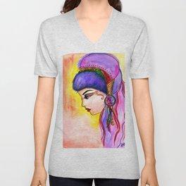 Gypsy Girl Unisex V-Neck