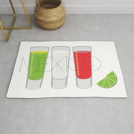 Mexico Tequila Shots Rug