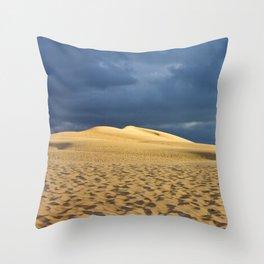 Dune du Pilat 3 Throw Pillow