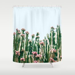 Blush Cactus #society6 #decor #buyart Shower Curtain