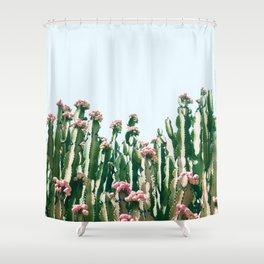 Blush Cactus #society6 #decor #buyart Shower Curtain