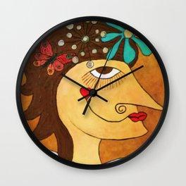 Irma. Wall Clock