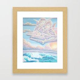 Les anges gardiens de l'amour Framed Art Print