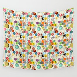 Math in color (little) Wall Tapestry