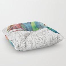 Chameleon Fail Floor Pillow