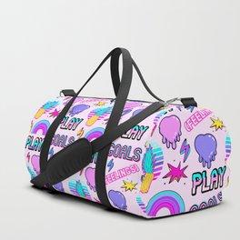 [Feelings] II (stickers pattern) Duffle Bag