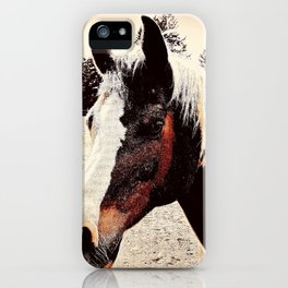 Portrait Of A Gentle Friend iPhone Case