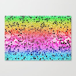 THINK RAINBOW Canvas Print