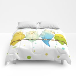 The Budgie Bunch Comforters
