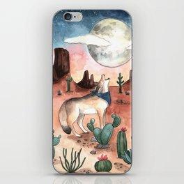 Coyote Moon iPhone Skin