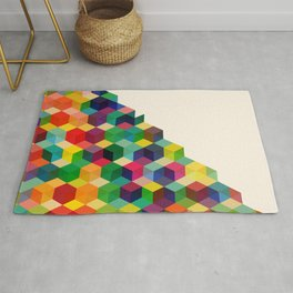 Hexagonzo Rug