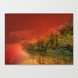 ST-art Autobahn Canvas Print