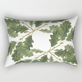 Oak leaf ensemble Rectangular Pillow