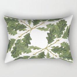 Oak leaf ensemble Rectangular Pillow