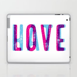 LOVE over HATE Laptop & iPad Skin
