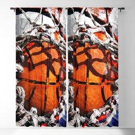 Basketball art swoosh vs 35 Blackout Curtain
