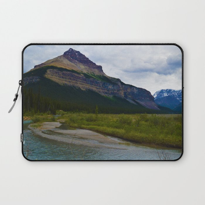 Tangle Ridge in the Columbia Icefields area of Jasper National Park, Canada Laptop Sleeve