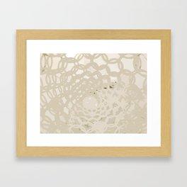 Twists Framed Art Print