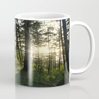 narnia Mugs featuring Entering Narnia by Ananya Ghemawat