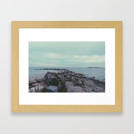 beachy. Framed Art Print
