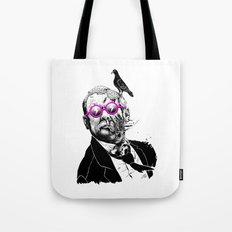 political zombie theme Tote Bag