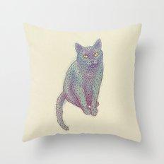 Polycat Throw Pillow