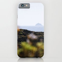 Volcanic landscape of Lanzarote 2- travel photography iPhone Case