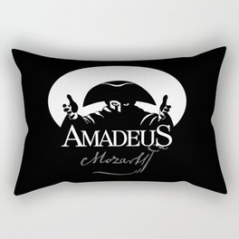 Mozart-Amadeus-Music-Classical-Piano-Composer-Musician Rectangular Pillow